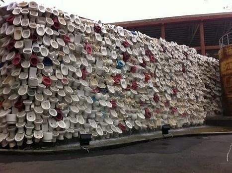 Fuente cascada de inodoros en China   Pausate   Saneamiento   Scoop.it