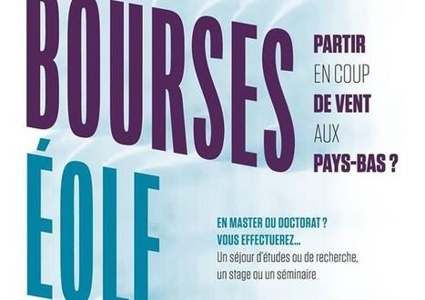 Bourses Éole : Financer un séjour de recherche doctorale aux Pays-Bas ! #Mobilité #Doctorants | Financement des doctorants Ladyss | Scoop.it