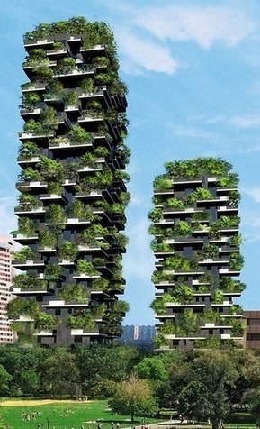 Vertical Forest by Boeri Studio in Milano, Italy | Iam Architect | Ambientales | Scoop.it