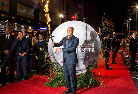 Vin Diesel Stuns Everyone With A Flaming Sword At The Red Carpet   Fashion and Trends   Scoop.it