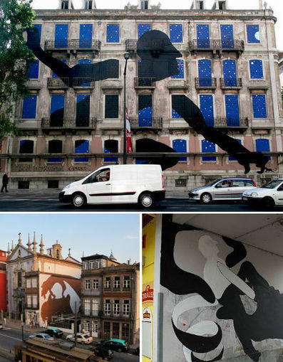 Marvelous Muralist Makes Giant-Sized Street Art Illusions | WebUrbanist | The brain and illusions | Scoop.it
