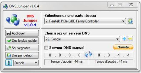 Changer facilement de serveur DNS, Switch Domain Servers | Ballajack | Time to Learn | Scoop.it