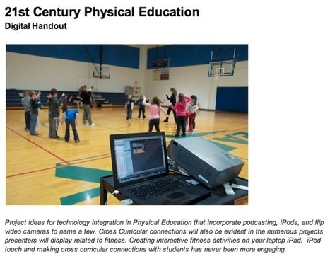 Kevin Morrow||iPods & iPads in Physical Education | MYP-Physical Education | Scoop.it