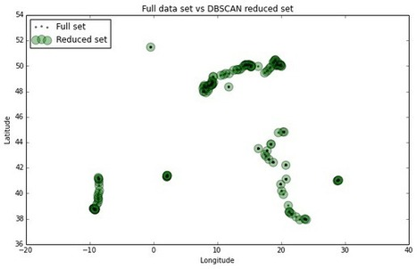 Clustering to Reduce Spatial Data Set Size | Location Analytics And Intelligence | Scoop.it