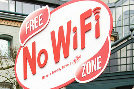 Kit Kat creates Wi-Fi Free Zone to force city dwellers to relax | Facebook Insights | Scoop.it