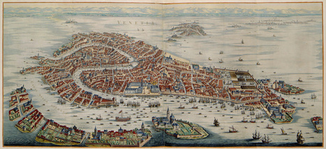 : Panoramic Maps of Italian Cities, 1704 | Généal'italie | Scoop.it