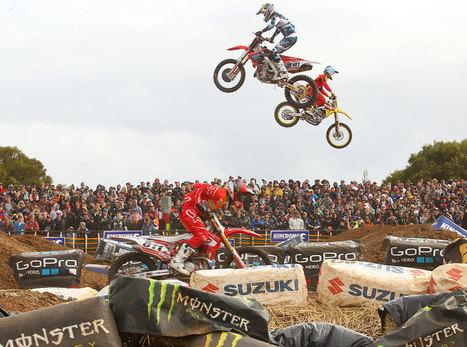 -- Rossi supports Australian Supercross Championship at 2013 Aussie MotoGP - Mcnews.com.au | motocross!!! | Scoop.it