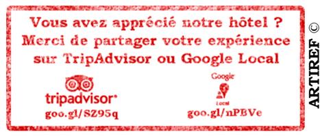 Le coup du tampon - Artiref - WebMarketing Hôtelier   chiffres e-tourisme   Scoop.it