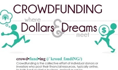 Crowdfunding: Where Dollars and Dreams Meet | digitalNow | Scoop.it