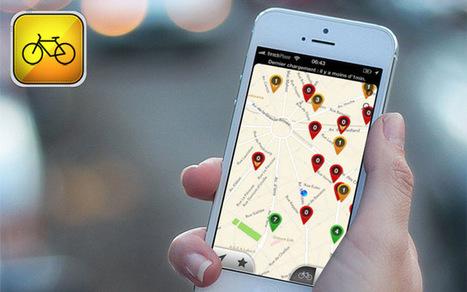 [Bon App'] Univélo Paris, le Waze des Vélib'   Cartographie XY   Scoop.it