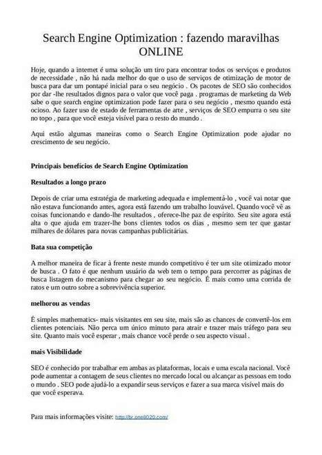 Search Engine Optimization: fazendo maravilhas ONLINE | Internet Marketing Strategies | Scoop.it