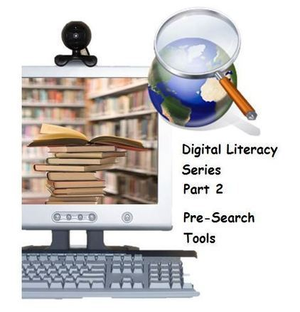 15 Amazing Web Tools Facilitating Pre-Search Strategies… Digital Literacy Series Part 2 | Into the Driver's Seat | Scoop.it