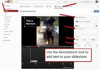 Free Technology for Teachers: How to Create YouTube Photo Slideshows - A Good Alternative to Animoto | Serious Play | Scoop.it
