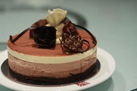 pâtisserie maison : Recette : Trio au chocolat   Cuisine   Scoop.it