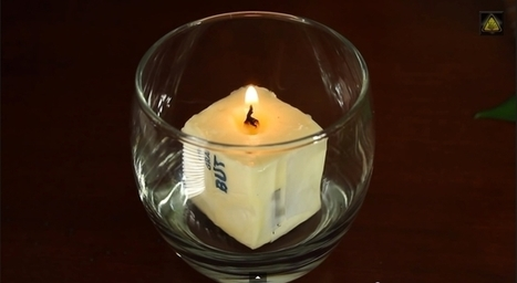 6 ways to make an emergency candle with household objects | Sustain Our Earth | Scoop.it