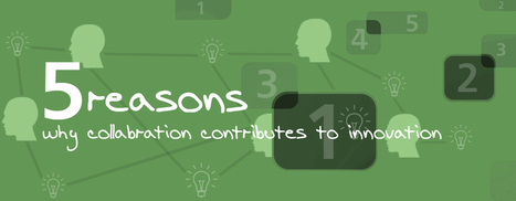 5 Reasons why collaboration contributes to innovation | Building Innovation Capital | Scoop.it