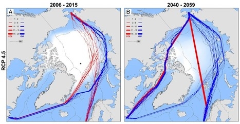 Climate change will open up surprising new Arctic shipping routes | Climate - Water - Ecology - People and Sustainability post Rio+20 | Scoop.it