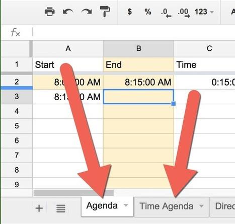 Collaborating on Agenda Template | REA | Scoop.it