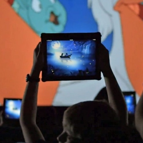 Disney Wants You to Bring Your iPad to 'The Little Mermaid' Movie   TV Trends   Scoop.it