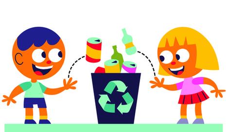 5 recursos divertidos para enseñar a tus hijos a reciclar - aulaPlaneta | Educacion, ecologia y TIC | Scoop.it