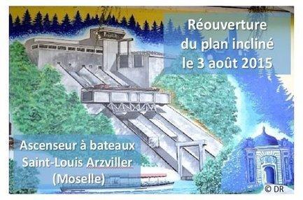 L'ascenseur à bateaux de Saint-Louis Arzviller (Moselle) - Espace Collèges - planete TP | Ressources pour la Technologie au College | Scoop.it