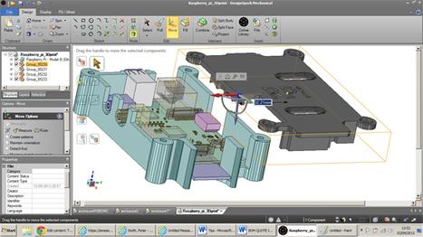 3D Freebie: DesignSpark Mechanical | Design Eng - Canadian Manufacturing | MECHANICAL DESIGN | Scoop.it