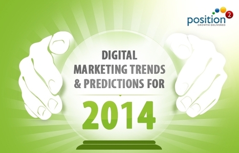 [Infographic] Digital Marketing Trends & Predictions for 2014   Position²   The digital hodgepodge   Scoop.it