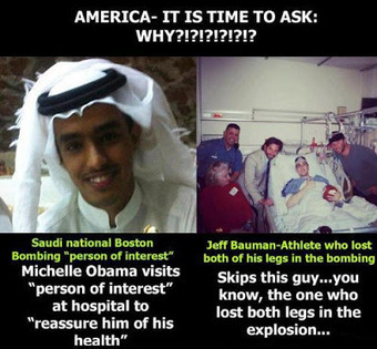 MFS: Is Obama 'Admin' Covering Up Saudi Role In Boston Bombings? | War Against Islam | Scoop.it