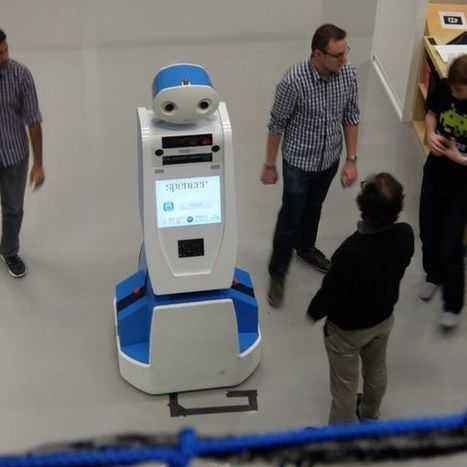 Lost at an Airport? Spencer the Robot Can Help   Post-Sapiens, les êtres technologiques   Scoop.it