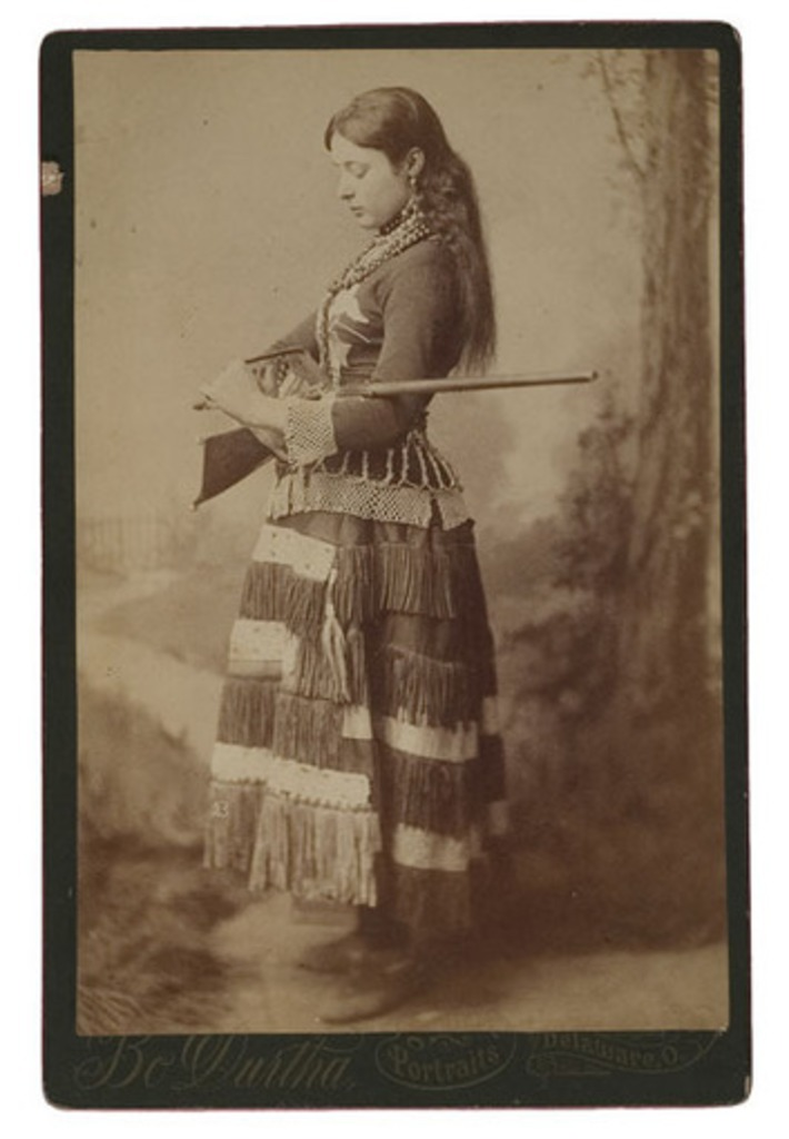 Cabinet Card of a Lady Sharpshooter, - Cowan's Auctions | Antiques & Vintage Collectibles | Scoop.it