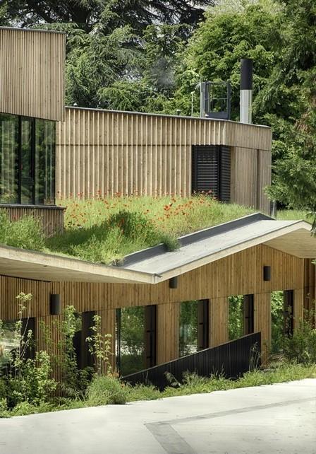 School complex in Rillieux-la-Pape / Tectoniques Architects | Maisons Bois Basse Conso | Scoop.it