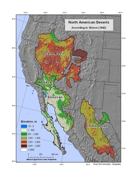 Deserts of North America | Hot Desert | Scoop.it
