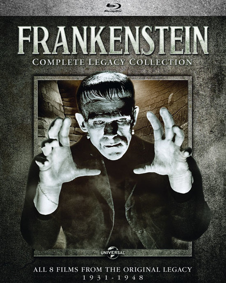 Classicflix.com Blog: UNIVERSAL BLU: Frankenstein and Wolf Man Legacy Collections in September | Filmnoirliveshere | Scoop.it
