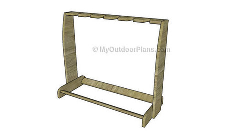 Wooden Guitar Stand Plans | Free Outdoor Plans - DIY Shed, Wooden Playhouse, Bbq, Woodworking Projects | Garden Plans | Scoop.it