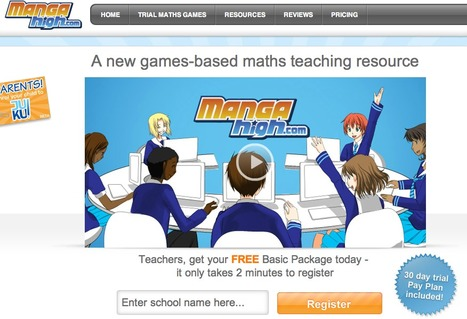 Maths Games - from Mangahigh.com | Great Math Resources | Scoop.it