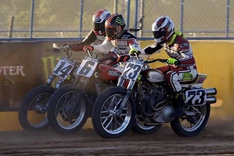Another great shot from Thursday's Harley-Davidson Flat Track Racing at X Games. | California Flat Track Association (CFTA) | Scoop.it