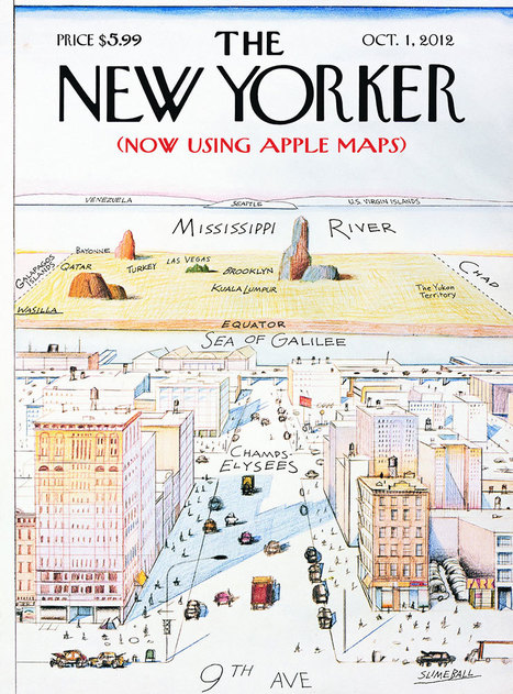 Apple Maps Wreak Havoc on NYC | A New Society, a new education! | Scoop.it
