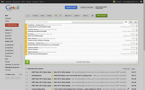 Cómo saber si han leído tus correos de Gmail con Yesware   Venus   Scoop.it
