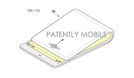 Samsung Foldable Smartphone patent shows bendable design   Samsung mobile   Scoop.it