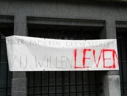 mercredi 11 avril 2012 - Bruxelles - Manifestation - Les sans-papiers veulent VIVRE! | Occupy Belgium | Scoop.it