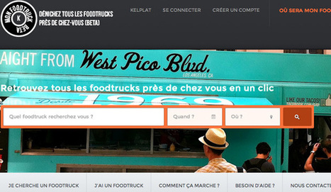 4 sites pour trouver un foodtruck près de chez soi   Foodtruck   Scoop.it