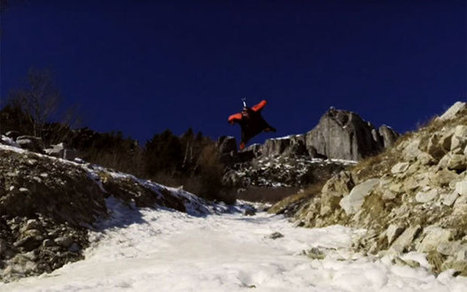 Wingsuit pilot Brian Drake flies incredibly close to the ground | Strange days indeed... | Scoop.it