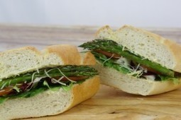 Roasted Asparagus Sandwich | Monthly Special Box Lunch | Los Angeles, California | Box lunch | Scoop.it