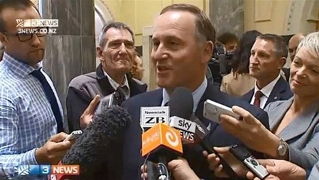 NZ Prime Minister confirms he's 'not an alien' | No Such Thing As The News | Scoop.it