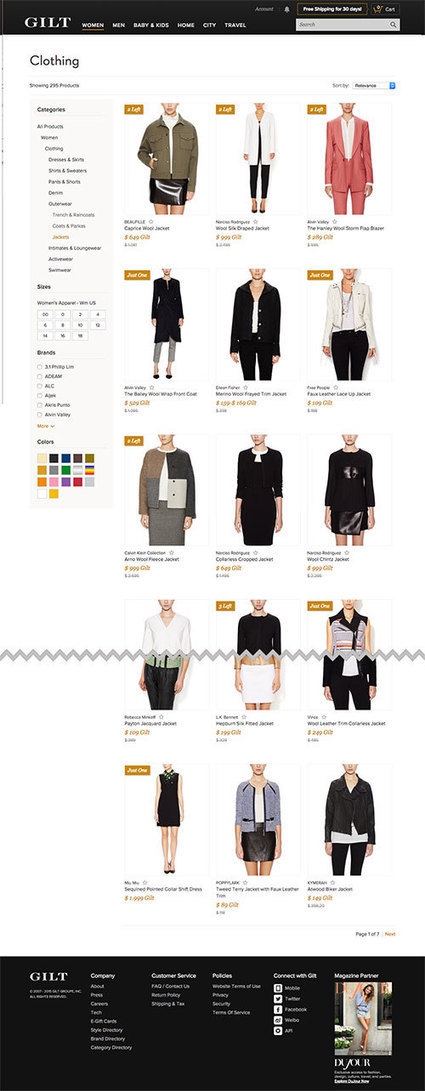The Current State Of E-Commerce Filtering - Smashing Magazine   Ecommerce' topic   Scoop.it