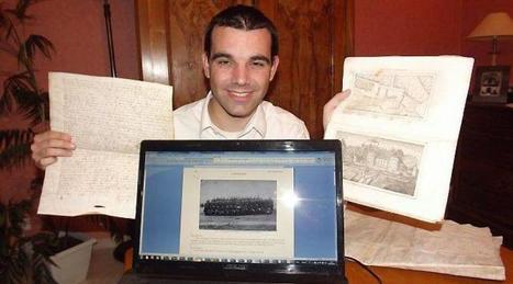 David Colléaux est passionné de généalogie depuis son enfance - Ouest-France | Rhit Genealogie | Scoop.it