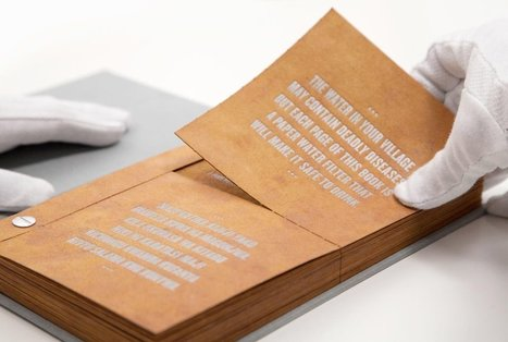 Could This 'Drinkable Book' Provide Clean Water to the Developing World? | World Regional Geography with Dr Jensen | Scoop.it