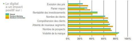 Selon 9 entreprises sur 10 le digital a un impact positif leur activité - Business Marketing Service | Publicite Marketing Internet | Scoop.it
