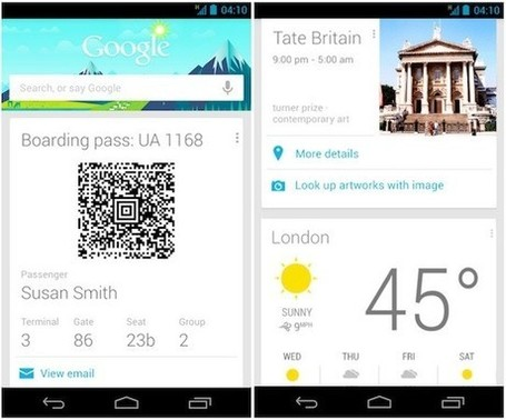 Google Now updated with support for widgets, added information sources | Alt Digital | Scoop.it