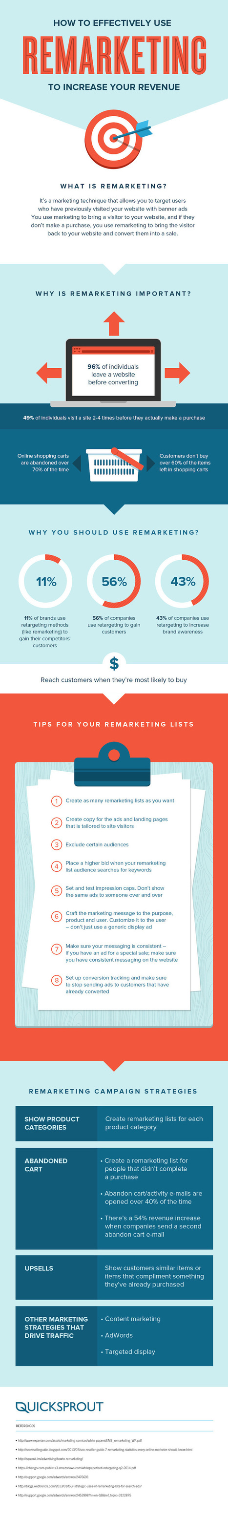 How to Effectively Use Remarketing to Increase Your Revenue | infografias - infographics | Scoop.it